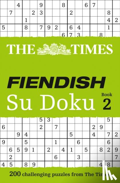 The Times Mind Games - The Times Fiendish Su Doku Book 2
