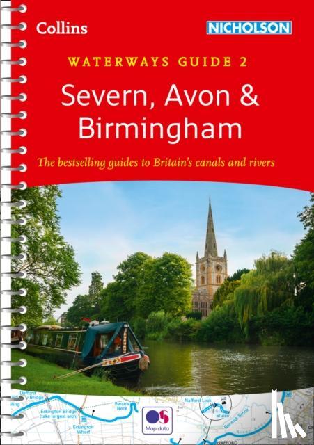 Collins Maps - Severn, Avon and Birmingham