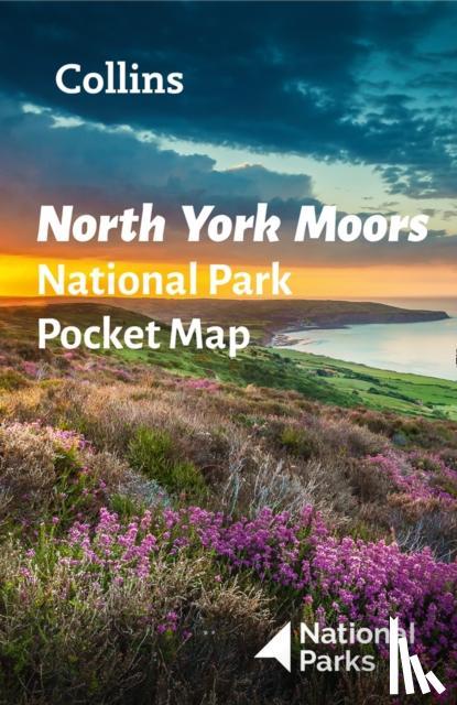 National Parks UK, Collins Maps - North York Moors National Park Pocket Map