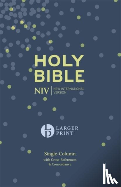 - NIV Compact Single Column Reference Bible