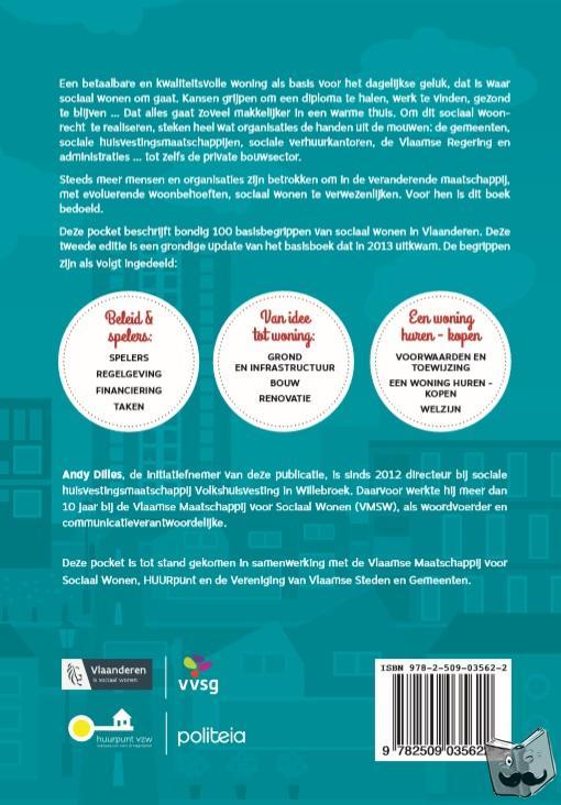Dilles, Andy - 100 basisbegrippen over sociaal wonen in Vlaanderen
