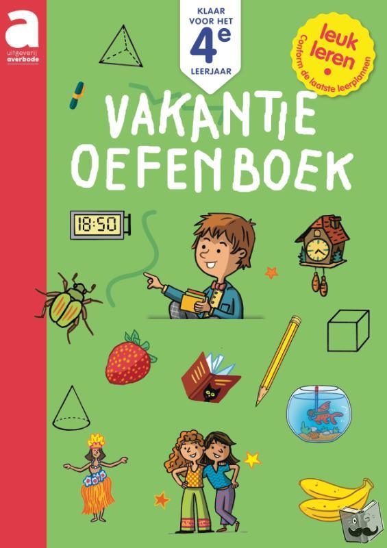 - Klaar voor het 4e leerjaar: Vakantie-oefenboek