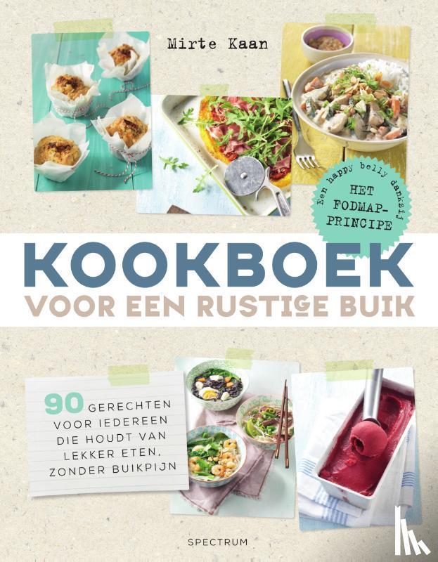 Kaan, Mirte - Kookboek voor een rustige buik