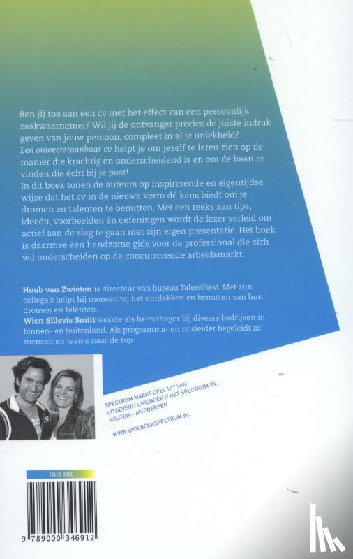 Zwieten, Huub van, Sillevis Smitt, Wien - Een onweerstaanbaar CV