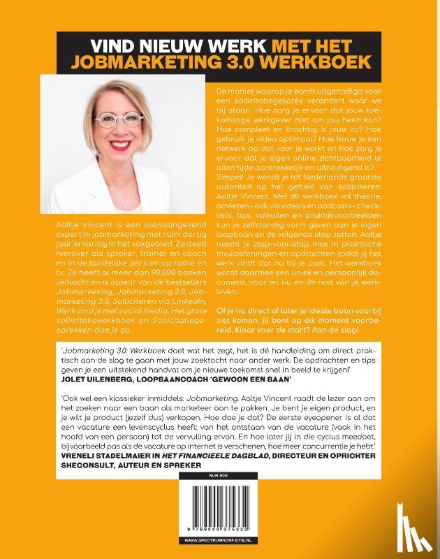 Vincent, Aaltje - Jobmarketing 3.0: