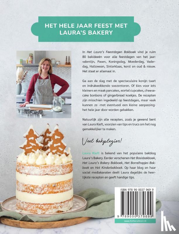 Kieft, Laura - Het Laura's Bakery Feestdagen Bakboek
