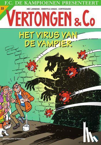 Leemans, Hec, Swerts & Vanas - Het virus van de vampier