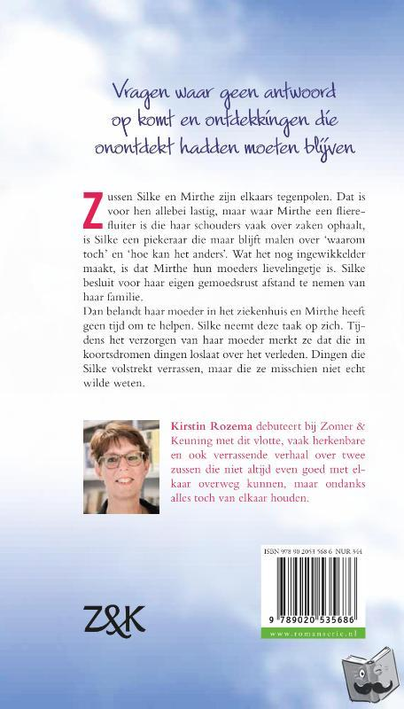 Rozema, Kirstin - Zo anders