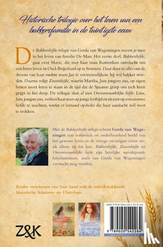 Wageningen, Gerda van - Bakkersliefde trilogie