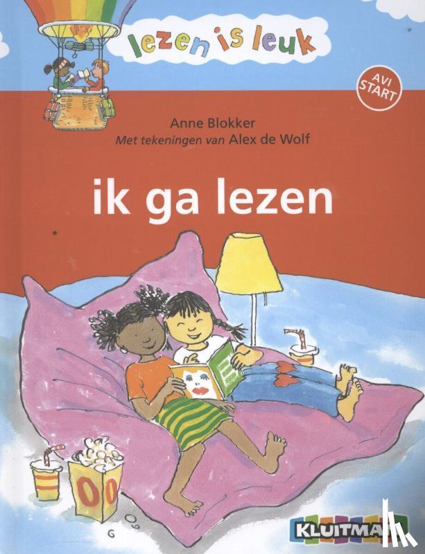 Blokker, Anne - Ik ga lezen