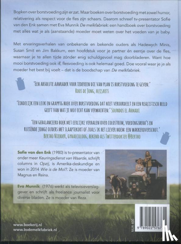 Enk, Sofie van den, Munnik, Eva - De melkfabriek