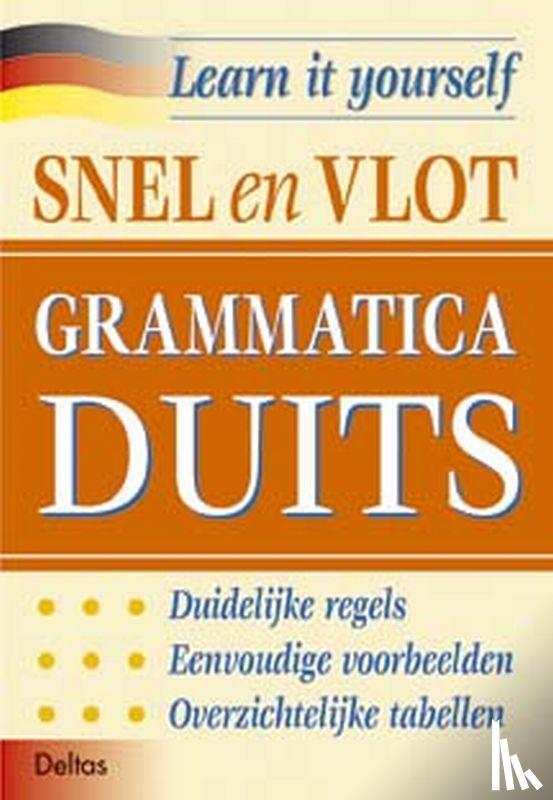 - Snel en vlot grammatica Duits