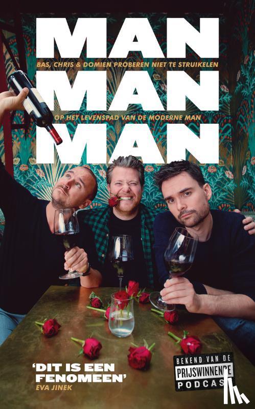 Verschuuren, Domien, Louissen, Bas, Bergström, Chris - Man man man, het boek