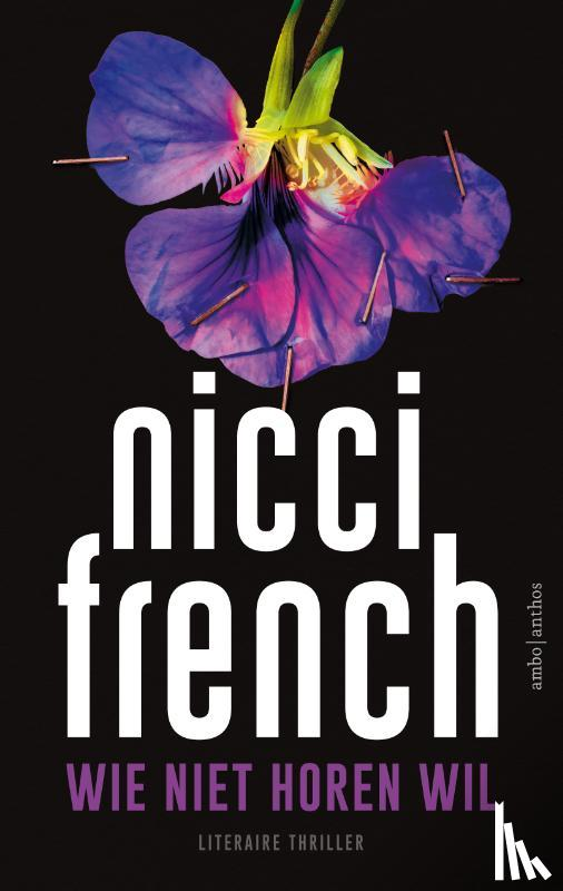 French, Nicci - Wie niet horen wil