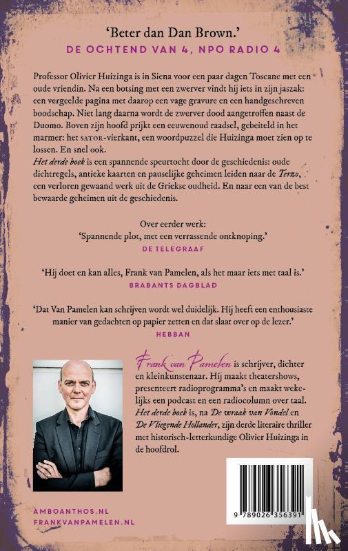 Pamelen, Frank van - Het derde boek
