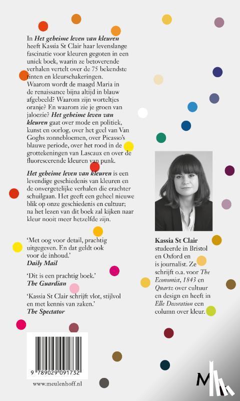 St Clair, Kassia - Het geheime leven van kleuren