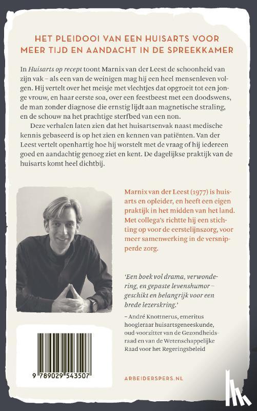 Leest, Marnix van der - Huisarts op recept