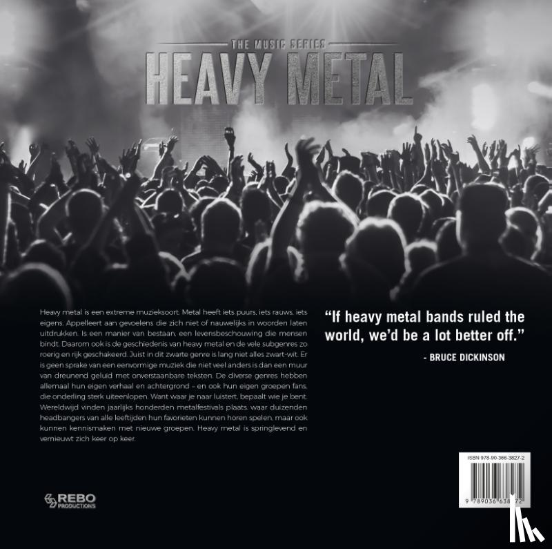 Eeden, Ed van - Heavy metal
