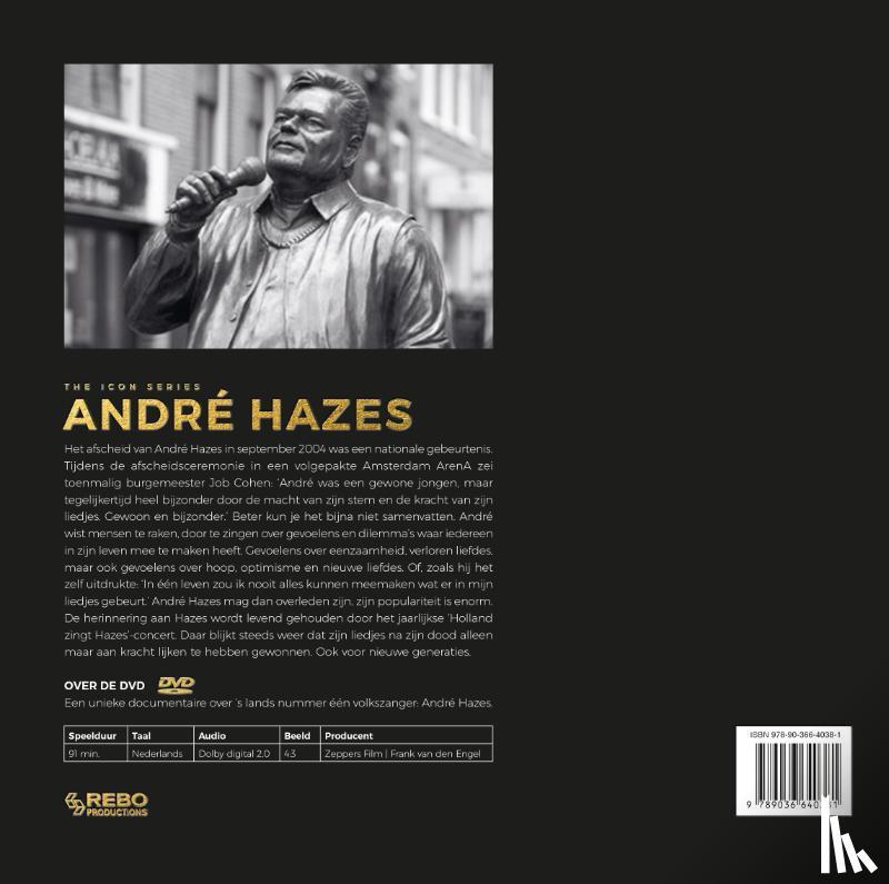Eeden, Ed van - André Hazes - The Icon Series met DVD