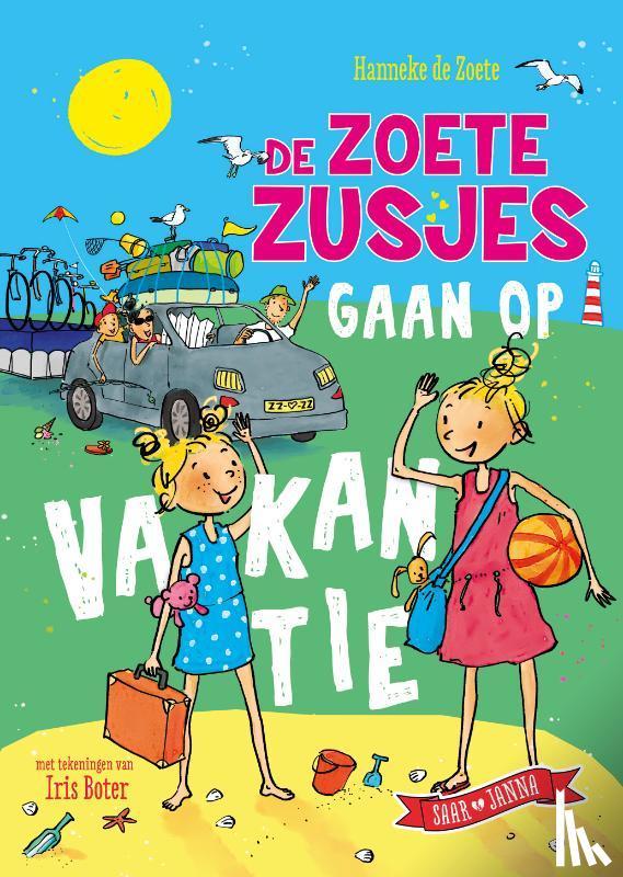 Zoete, Hanneke de - De zoete zusjes gaan op vakantie