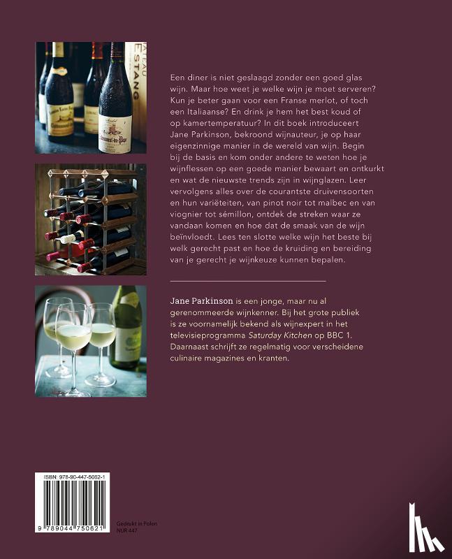 Parkinson, Jane - De juiste wijn