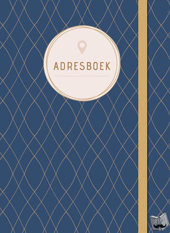 ZNU - Adresboek (klein) - Dark Blue