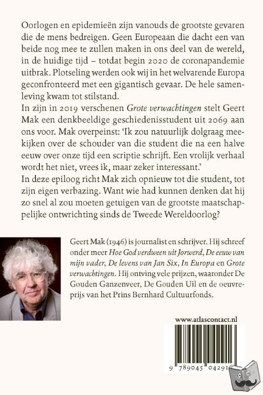 Mak, Geert - Epiloog bij Grote verwachtingen
