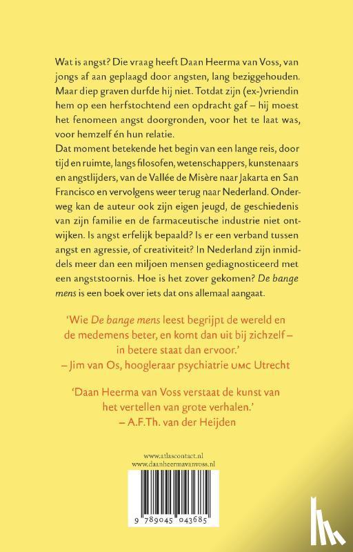 Heerma van Voss, Daan - De bange mens