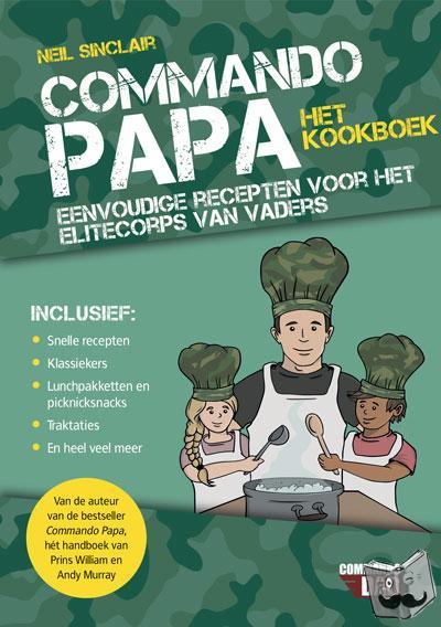 Sinclair, Neil - Commando papa-het kookboek