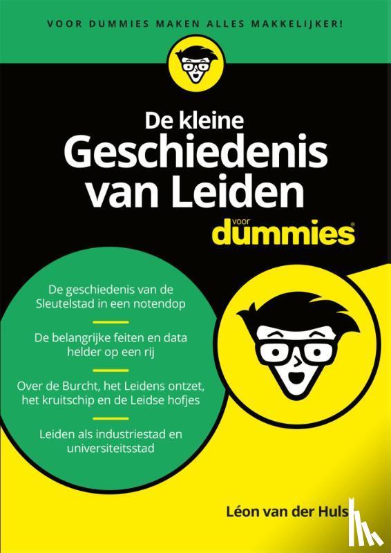 Hulst, Léon van der - De kleine geschiedenis van Leiden voor Dummies