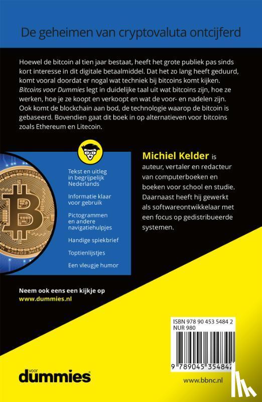 Kelder, Michiel - Bitcoins voor Dummies
