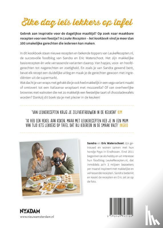Waterschoot, Sandra, Waterschoot, Eric - Leuke Recepten - het kookboek