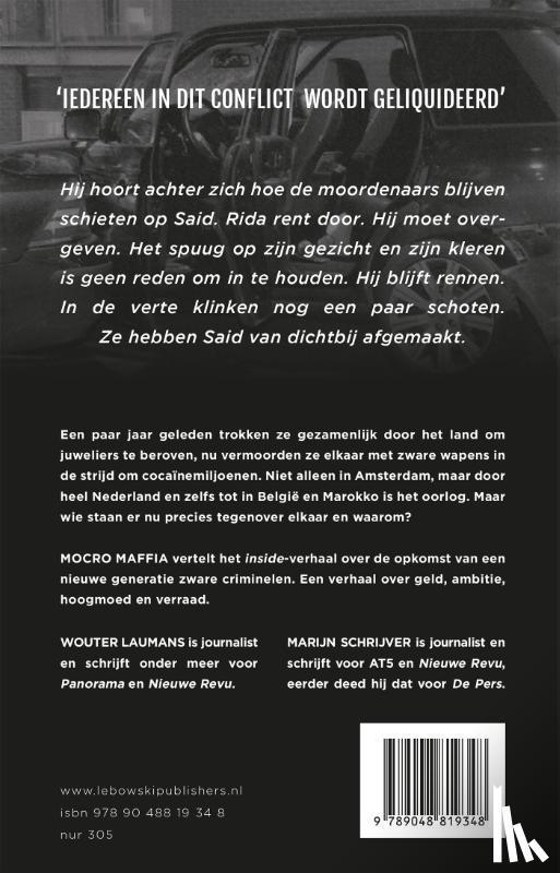 Laumans, Wouter, Schrijver, Marijn - Mocro maffia
