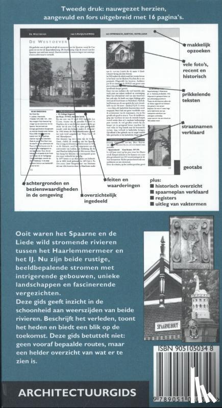 Haan, Hilde de, Haagsma, Ids - Gebouwen langs het Spaarne en de Liede