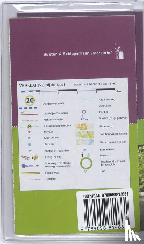 Post, Bas van der, Sijbrands, Reinier - Alle fietsroutes in de regio Hart van Brabant