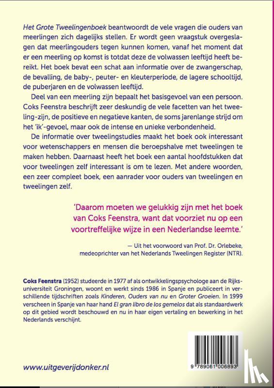 Feenstra, Coks - Het grote tweelingenboek
