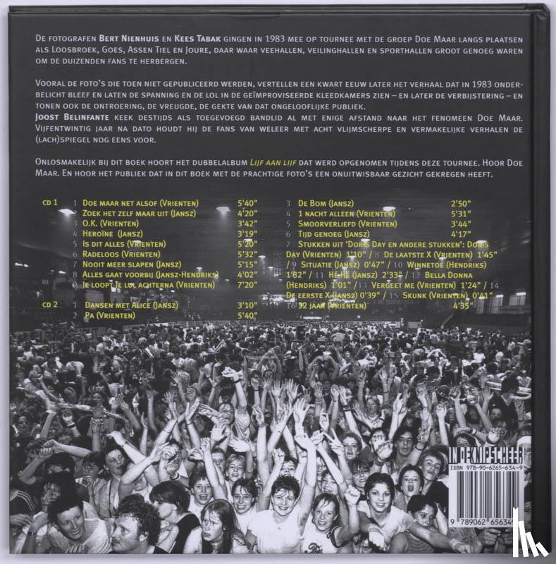 Belinfante, J. - Doe Maar Lijf aan lijf + 2 CD's