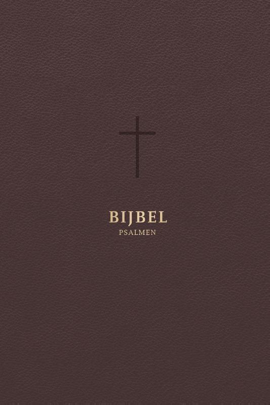 - Bijbel (HSV) met psalmen - met goudsnee