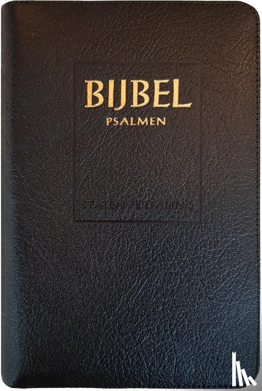 - Bijbel (SV) met psalmen (niet-ritmisch) - met goudsnee, rits en duimgrepen