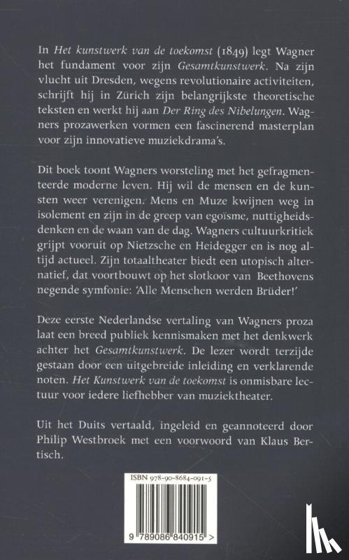 Wagner, Richard - Het kunstwerk van de toekomst