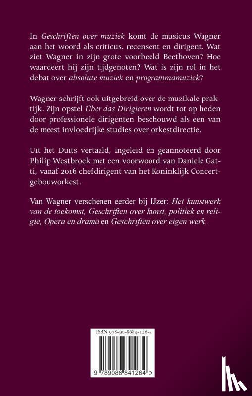 Wagner, Richard - Geschriften over muziek