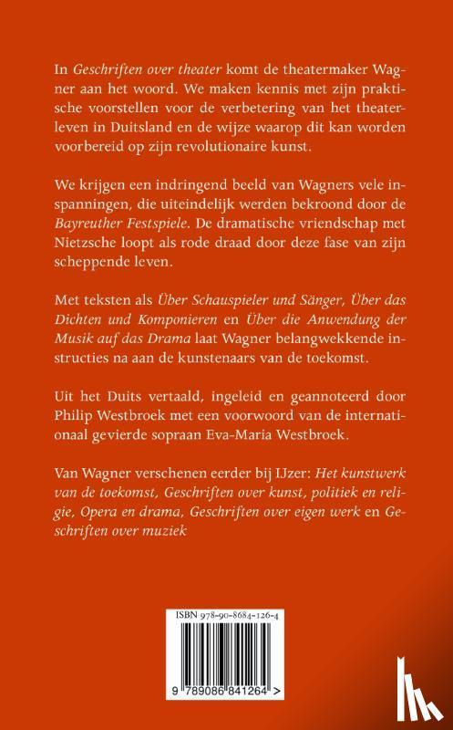 Wagner, Richard - Geschriften over theater