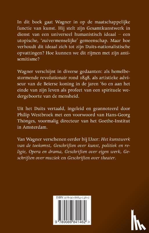 Wagner, Richard - Geschriften over cultuur & maatschappij