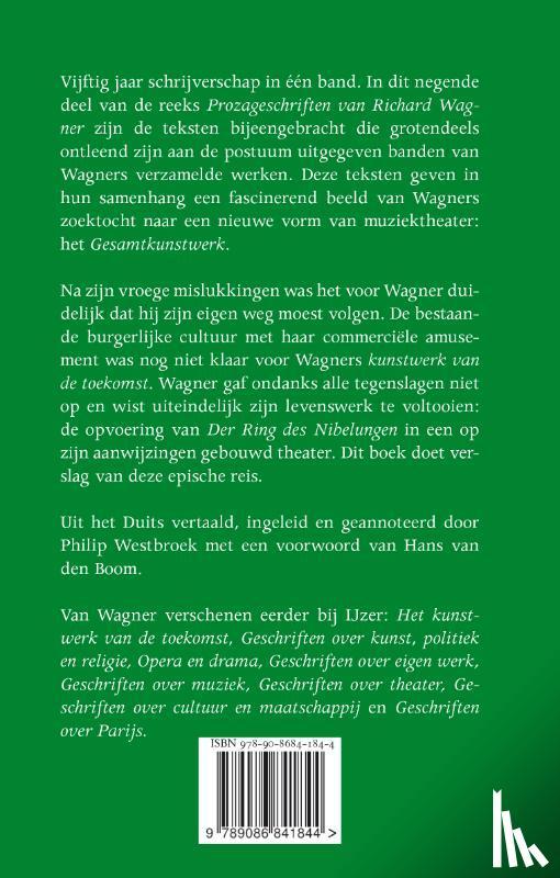 Wagner, Richard - Geschriften uit de nalatenschap, open brieven en herinneringen