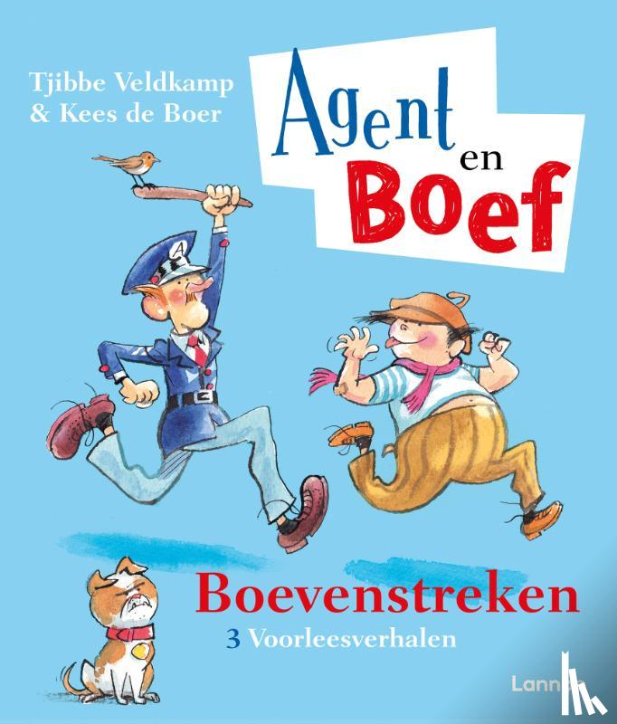 Veldkamp, Tjibbe, de Boer, Kees - Agent en Boef - Boevenstreken
