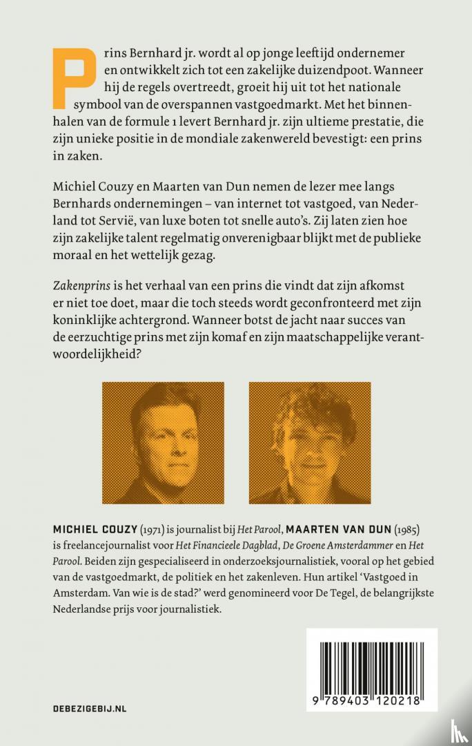 Couzy, Michiel, van Dun, Maarten - Zakenprins