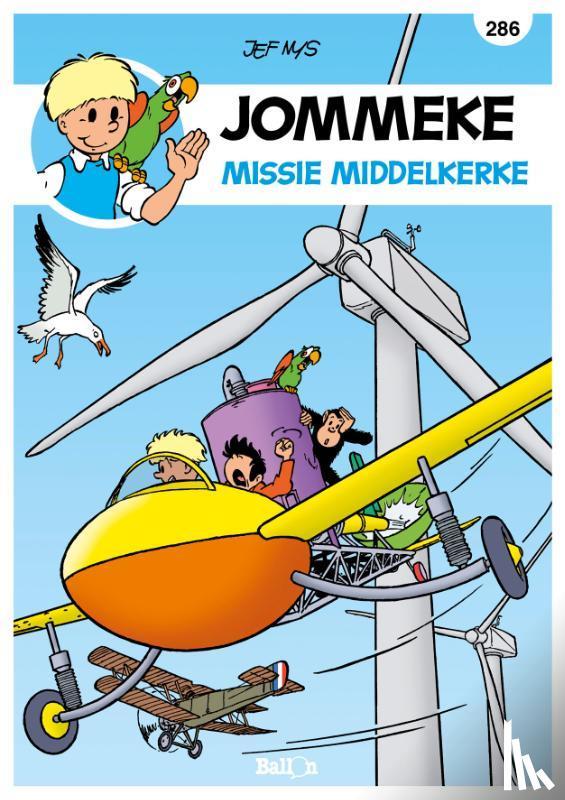Van Loock, Gerd, Richez, Hervé, Cazenove, Christophe - Missie Middelkerke