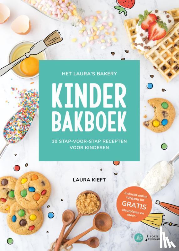 Kieft, Laura - Het Laura's Bakery Kinderbakboek