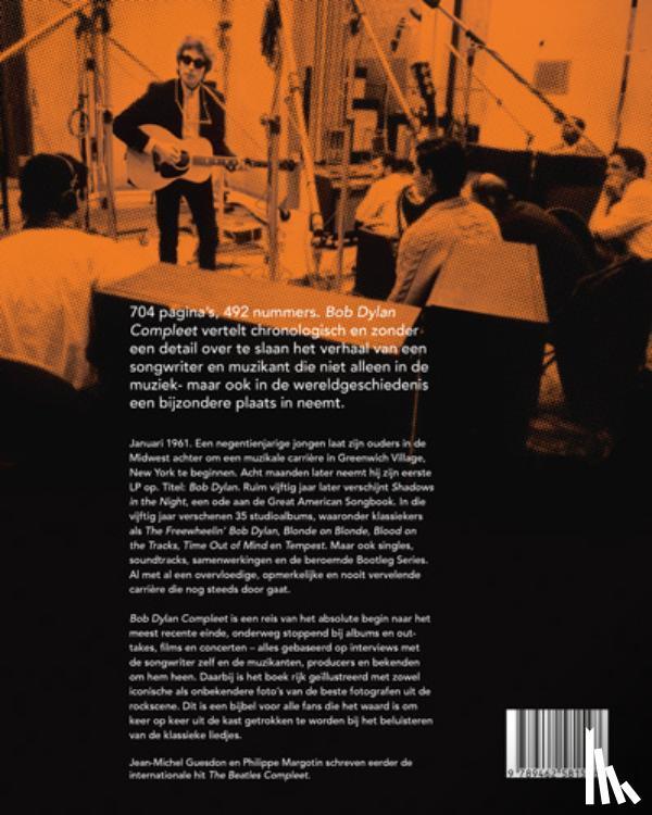 Margotin, Philippe, Guesdon, Jean-Michel - Bob Dylan compleet - Het verhaal van de 492 songs - 2e druk