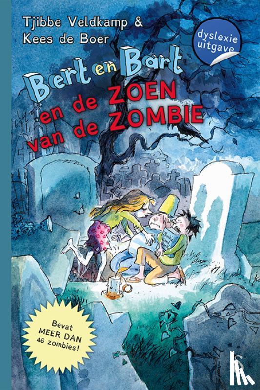 Veldkamp, Tjibbe - Bert en Bart en de zoen van de zombie